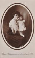 AK Unsere Kronprinzessin Mit Ihrem Jüngsten Sohn - 1913 (36140) - Königshäuser