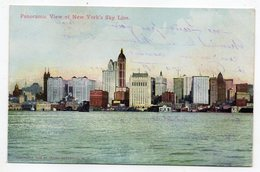 USA -- NEW YORK -- Panoramic View Of New York's Sky Line - Multi-vues, Vues Panoramiques