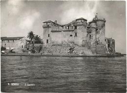 X3809 Santa Marinella (Roma) - Castello Di Santa Severa - Castle Chateau Schloss Castillo / Viaggiata 1957 - Altre Città