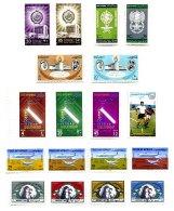 KUWAIT, Commemoratives, Yv 163/66, 171/72, 181/83, 202, 235/38, Av 5/8, * MLH, F/VF, Cat. € 14 - Koweït