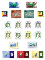 KUWAIT, Commemoratives, Yv 190/97, 301/02, 311/12, 323/24, 327/28, 334/35, 337, * MLH, F/VF, Cat. € 26 - Koweït
