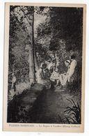 LE PLESSIS ROBINSON--Le Repos à L'ombre (étang Colbert) --animée -femme , Pêcheur - Le Plessis Robinson