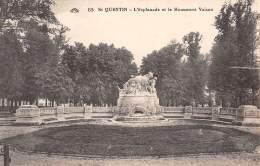 02 - St-QUENTIN - L'Esplanade Et Le Monument Vaison - Saint Quentin