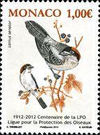 Monaco 2012 BIRDS 1v  MNH** - Oiseaux