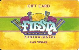 Fiesta Casinos - Las Vegas NV - Gift Card (no Value) - Gift Cards