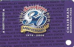 Station Casinos Las Vegas, NV - BLANK Chairman Slot Card Copyright 2006 - Casino Cards