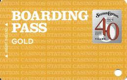 Station Casinos Las Vegas, NV - BLANK Slot Card Copyright 2016 - Casino Cards