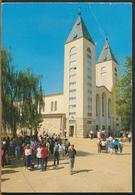 °°° 11068 - BOSNIA HERZEGOVINA - MEDUGORJE - 1990 With Stamps °°° - Bosnia Erzegovina