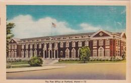 Maine Portland Post Office Dexter Press - Portland