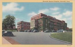 Connecticut Norwalk General Hospital Curteich - Norwalk