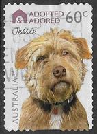 Australia 2010 Dogs 60c Type 4 Self Adhesive Good/fine Used [38/31230/ND] - 2010-... Elizabeth II