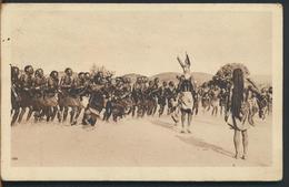 °°° 11086 - AFRICA - DANZE TRIBALI - 1939 °°° - Cartoline