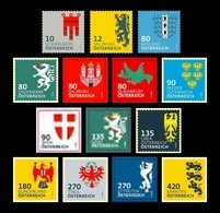 Austria 2018 Mih. 3404/17 Definitive Issue. Austrian Heraldry (II). Coat Of Arms MNH ** - 2011-... Nuevos & Fijasellos