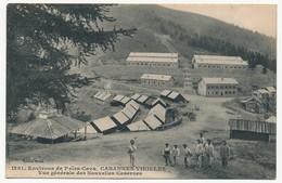 CPA - CABANNES-VIEILLES (Alpes Maritimes) - Environs De Peïra-Cava - Vue Générale Des Nouvelles Casernes - Autres Communes