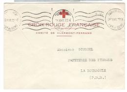 6475 - CROIX ROUGE CLERMONT FERRAND - Marcophilie (Lettres)