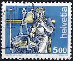 Switzerland 1993 - Cheesemaker ( Mi 1510x - YT 1434a ) No Fluorecent Paper - Zwitserland