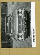 REGIE DES USINES RENAULT DE BILLANCOURT -  RENAULT RAMBLER - Automobiles