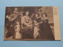 Musée De Bruxelles VAN DYCK Groupe De Famille ( 08 45948 ) Anno 1908 ( Zie Foto's ) ! - Museums