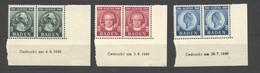 Baden,47-49,xx,BRU,Marken Xx,anhaftung Im BRU - Französische Zone