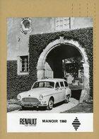 REGIE DES USINES RENAULT DE BILLANCOURT -  RENAULT   FREGATE MANOIR - Automobiles