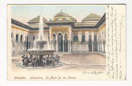 Granada * Alhambra * El Patio De Los Leones - Granada