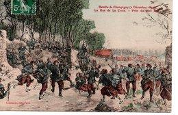 CPA Militaria - Décembre 1870  Bataille De Champigny   La Rue De La Croix - Guerres - Autres