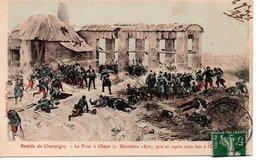 CPA Militaria - Décembre 1870  Bataille De Champigny  Le Four à Chaux - Altre Guerre