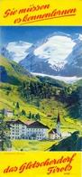 Brochure Dépliant Faltblatt Toerisme Tourisme - Ober Gurgl - Das Gletscherdorf Tirols - Austria Ca 1960 - Dépliants Touristiques
