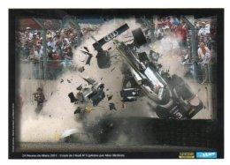 (72) 262, 24 Heures Du Mans, Maine Libre, 2011 Crash De L'Audi N° 3 Pilotée Par Allan Mc Nish - Le Mans