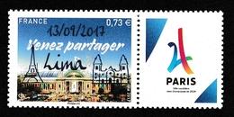 2017 Paris-Lima Candidature Aux J.O.2024 - France