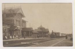 Dudergof.Railway Station. - Russie