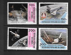 TIMBRE OBLITERE DU  CONGO BRAZZA DE 1981 N° MICHEL 805/08 - Congo - Brazzaville
