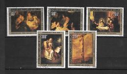 TIMBRE OBLITERE DU  CONGO BRAZZA DE 1980 N° MICHEL 744/48 - Congo - Brazzaville