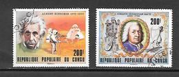 TIMBRE OBLITERE DU  CONGO BRAZZA DE 1979 N° MICHEL 696/97 - Congo - Brazzaville