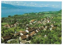 CHEYRES FR Flugaufnahme Broye Lac De Neuchâtel - FR Fribourg