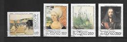 TIMBRE OBLITERE DU  CONGO BRAZZA DE 1978 N° MICHEL 657/60 - Congo - Brazzaville
