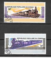 TIMBRE OBLITERE DU  CONGO BRAZZA DE 1975 N° MICHEL 460/61 - Congo - Brazzaville