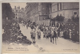 RENNES  Fête Des Fleurs 1910 - Rennes