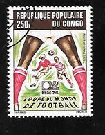 TIMBRE OBLITERE DU  CONGO BRAZZA DE 1974 N° MICHEL 411 - Congo - Brazzaville