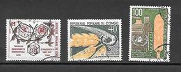 TIMBRE OBLITERE DU  CONGO BRAZZA DE 1973 N° MICHEL 402/04 - Congo - Brazzaville