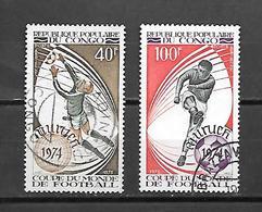 TIMBRE OBLITERE DU  CONGO BRAZZA DE 1973 N° MICHEL 405/06 - Congo - Brazzaville