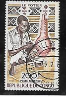TIMBRE OBLITERE DU  CONGO BRAZZA DE 1970 N° MICHEL 209 - Congo - Brazzaville