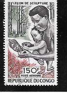 TIMBRE OBLITERE DU  CONGO BRAZZA DE 1970 N° MICHEL 208 - Congo - Brazzaville