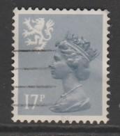 Scotland 1984 Queen Elizabeth II - New Values & Color 17 P Greyish Blue SW 40 O Used - Regional Issues
