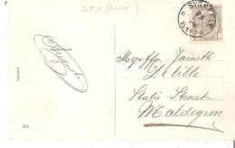 C.P. TP. 53 Dépôt-relais De SYSSEELE En 1912 V/Maldegem. TB - Postmarks With Stars