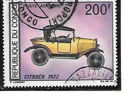 TIMBRE OBLITERE DU  CONGO BRAZZA DE 1968 N° MICHEL 160 - Congo - Brazzaville