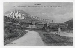 FONTGILLARDE - N° 397 - VALLEE DU QUEYRAS - VUE PRISE DE LA ROUTE DE MOLINES - CPA NON VOYAGEE - Otros Municipios