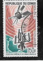 TIMBRE OBLITERE DU  CONGO BRAZZA DE 1966 N° MICHEL 93 - Congo - Brazzaville