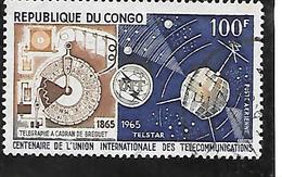TIMBRE OBLITERE DU  CONGO BRAZZA DE 1965 N° MICHEL 67 - Congo - Brazzaville