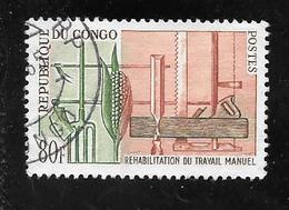 TIMBRE OBLITERE DU  CONGO BRAZZA DE 1964 N° MICHEL 44 - Congo - Brazzaville